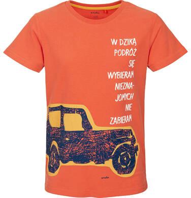T-shirt z krótkim rękawem dla chłopca 9-13 lat C91G641_1
