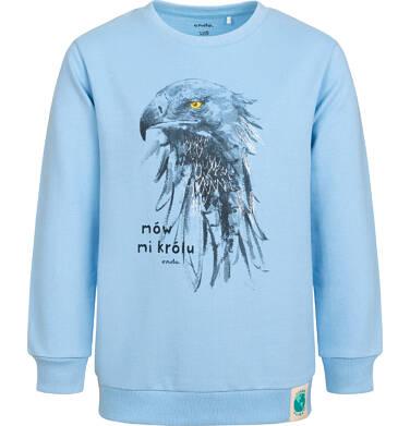 Endo - Bluza dla chłopca, z orłem, niebieska, 2-8 lat C05C011_1 14
