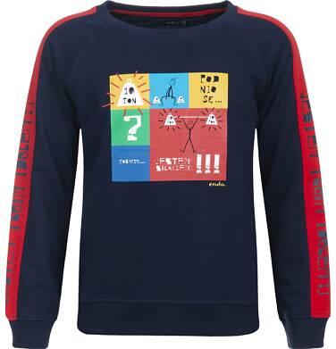 Endo - Bluza z długim rękawem dla chłopca 9-13 lat C82C516_1