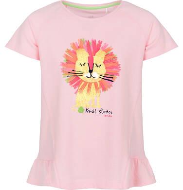 Endo - Bluzka z krótkim rękawem dla dziewczynki 9-13 lat D91G605_2