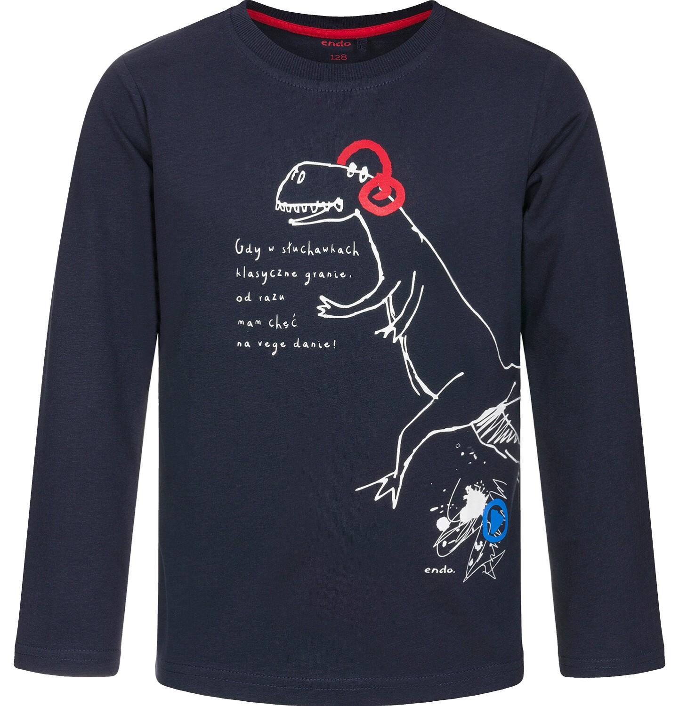 Endo - T-shirt z długim rękawem dla chłopca 3-8 lat C92G018_1