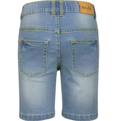 Endo - Krótkie spodenki jeansowe dla chłopca, 2-8 lat C03K034_1,2