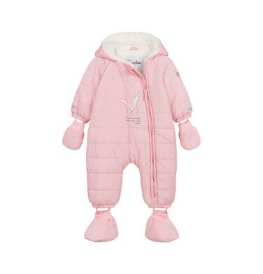 Kombinezon dla młego dziecka, z królikiem, różowy N04A002_1