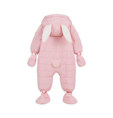Endo - Kombinezon dla młego dziecka, z królikiem, różowy N04A002_1,4