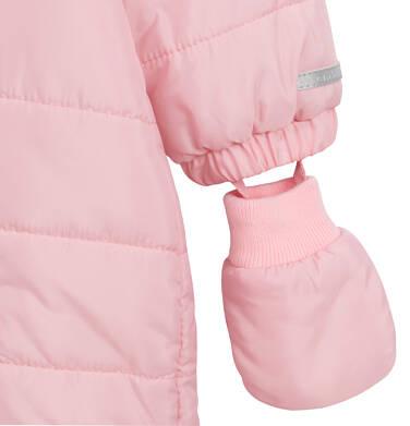 Endo - Kombinezon dla młego dziecka, z królikiem, różowy N04A002_1,6