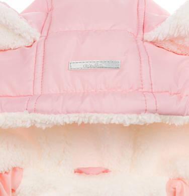 Endo - Kombinezon dla młego dziecka, z królikiem, różowy N04A002_1,5