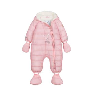 Endo - Kombinezon dla młego dziecka, z królikiem, różowy N04A002_1 8