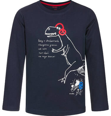 Endo - T-shirt z długim rękawem dla chłopca 9-13 lat C92G518_1,1
