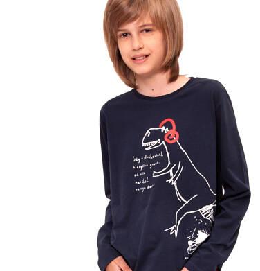 Endo - T-shirt z długim rękawem dla chłopca 9-13 lat C92G518_1,2