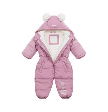 Endo - Kombinezon dla małego dziecka, z uszami, różowy N04A010_1 13