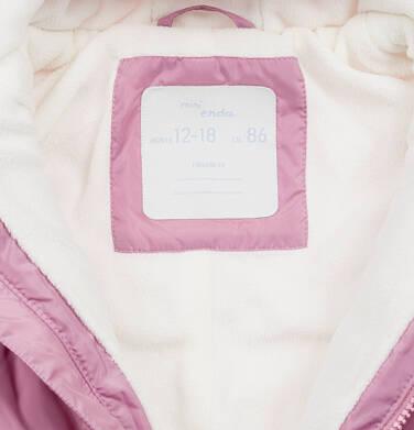 Endo - Kombinezon dla małego dziecka, z uszami, różowy N04A010_1,6