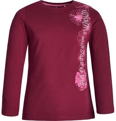 """Endo - """"Dla prawdziwych księżniczek"""" T-shirt z długim rękawem dla dziewczynki 3-8 lat D82G104_1"""
