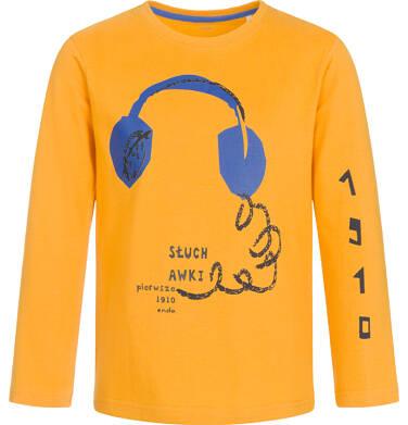 Endo - T-shirt z długim rękawem dla chłopca 9-13 lat C92G617_1