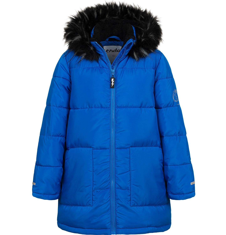 Endo - Długa kurtka zimowa dla chłopca, niebieska, 9-13 lat C04A004_1