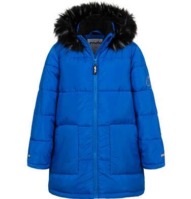 Długa kurtka zimowa dla chłopca, niebieska, 9-13 lat C04A004_1