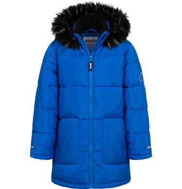 Endo - Długa kurtka zimowa dla chłopca, niebieska, 9-13 lat C04A004_1 5