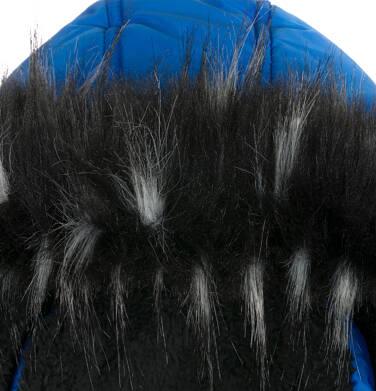 Endo - Długa kurtka zimowa dla chłopca, niebieska, 9-13 lat C04A004_1,5