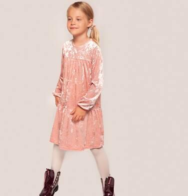 Endo - Sukienka z długim rękawem dla dziewczynki 3-8 lat D82H035_1