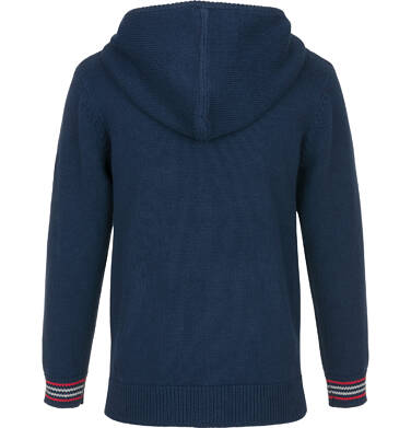 Endo - Sweter rozpinany z kapturem dla chłopca 9-13 lat C91B501_1