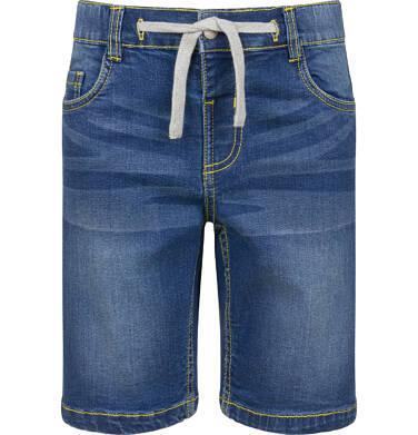 Krótkie spodenki jeansowe dla chłopca, 9-13 lat C03K534_2