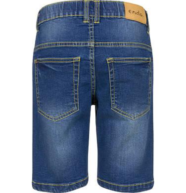 Endo - Krótkie spodenki jeansowe dla chłopca, 9-13 lat C03K534_2,2