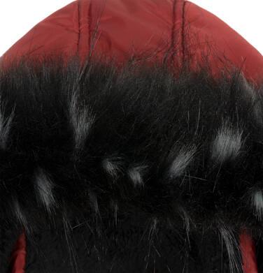 Endo - Długa kurtka zimowa dla chłopca, ceglany pomarańczowy, 9-13 lat C04A004_2,5