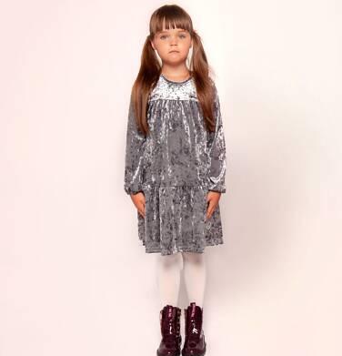 Endo - Sukienka z długim rękawem dla dziewczynki 3-8 lat D82H035_2