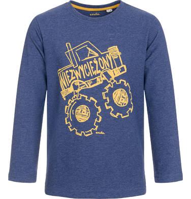 Endo - T-shirt z długim rękawem dla chłopca 9-13 lat C92G582_1