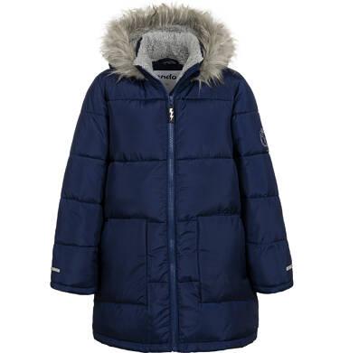 Endo - Długa kurtka zimowa dla chłopca, granatowa, 9-13 lat C04A004_3 5