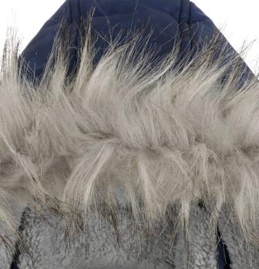 Endo - Długa kurtka zimowa dla chłopca, granatowa, 9-13 lat C04A004_3,5