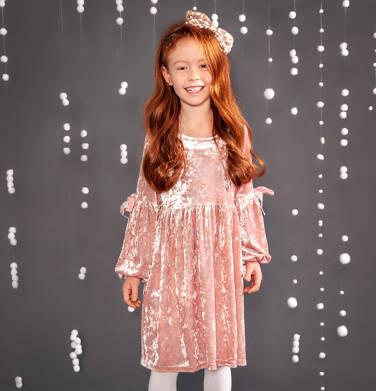 Endo - Sukienka z długim rękawem dla dziewczynki 3-8 lat D82H036_1
