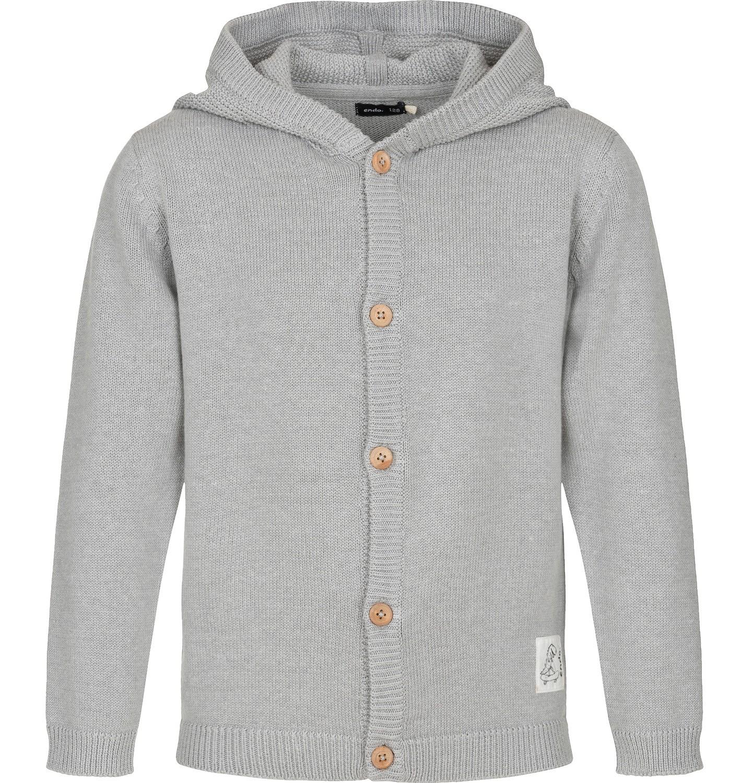 Endo - Sweter rozpinany z kapturem dla chłopca 9-13 lat C91B502_1