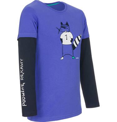 Endo - T-shirt z długim rękawem dla chłopca 9-13 lat C92G532_1