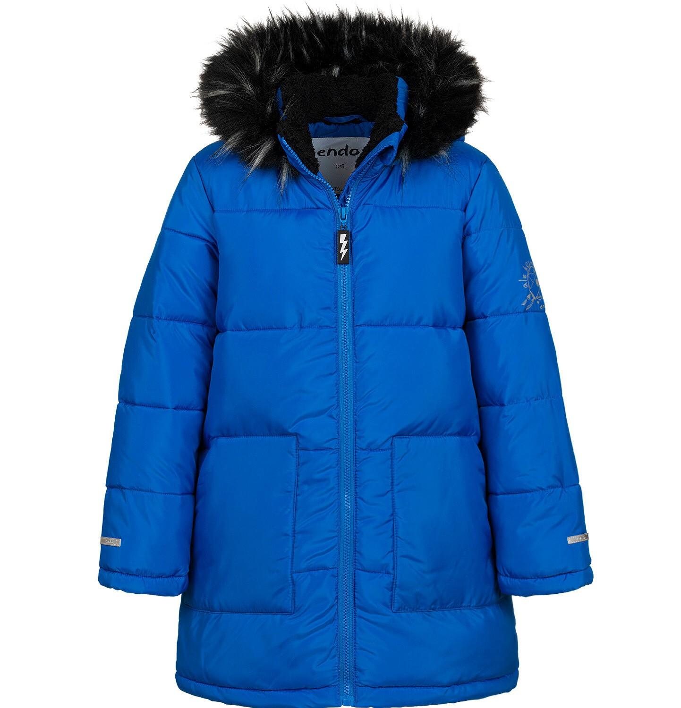 Endo - Długa kurtka zimowa dla chłopca, niebieska, 2-8 lat C04A014_1