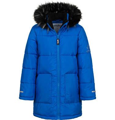 Długa kurtka zimowa dla chłopca, niebieska, 2-8 lat C04A014_1