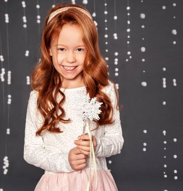 Endo - Sukienka z długim rękawem dla dziewczynki 3-8 lat D82H040_2