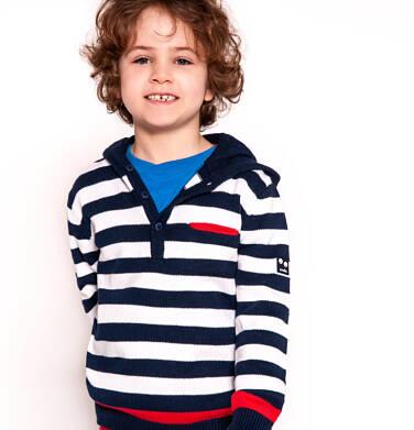 Endo - Sweter z kapturem dla chłopca 3-8 lat C91B003_1