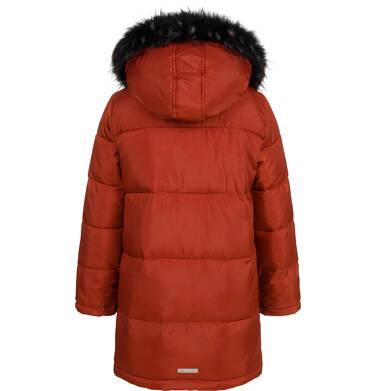 Endo - Długa kurtka zimowa dla chłopca, ceglany pomarańczowy, 2-8 lat C04A014_2 2
