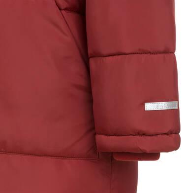 Endo - Długa kurtka zimowa dla chłopca, ceglany pomarańczowy, 2-8 lat C04A014_2,5