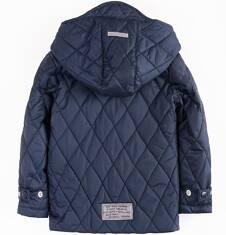 Endo - Pikowana kurtka z kapturem dla chłopca 4-8 lat C71A003_1