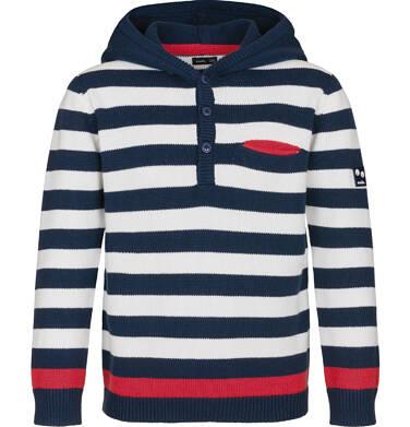 Sweter z kapturem dla chłopca 9-13 lat C91B503_1