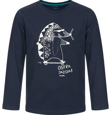 T-shirt z długim rękawem dla chłopca 9-13 lat C92G533_1