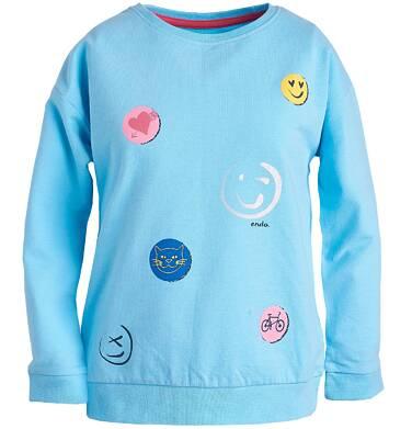 Bluza z nadrukiem dla dziewczynki 9-13 lat D81C522_1