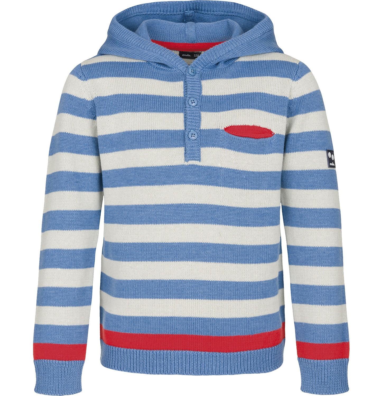 Endo - Sweter z kapturem dla chłopca 3-8 lat C91B003_2