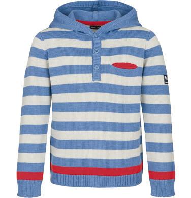 Sweter z kapturem dla chłopca 3-8 lat C91B003_2