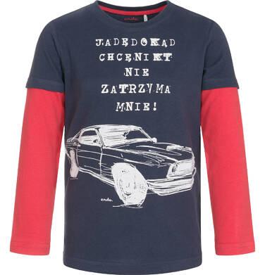 Endo - T-shirt z długim rękawem dla chłopca 9-13 lat C92G560_1