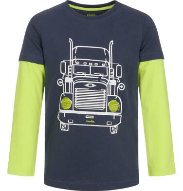 Endo - T-shirt z długim rękawem dla chłopca 9-13 lat C92G559_1