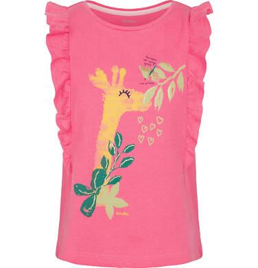 Endo - Top na ramiączkach dla dziewczynki 9-13 lat D91G606_1