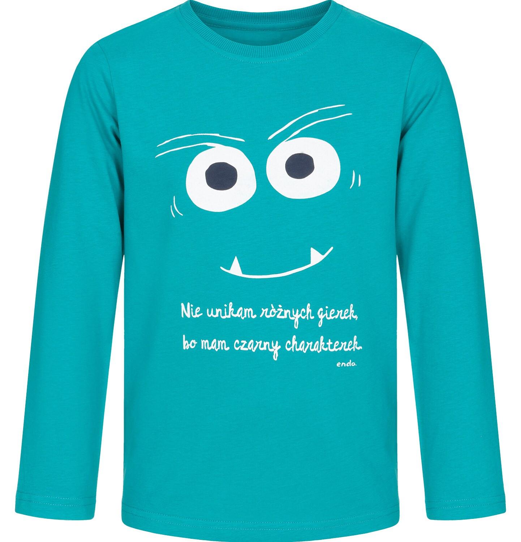 Endo - T-shirt z długim rękawem dla chłopca 3-8 lat C92G037_1