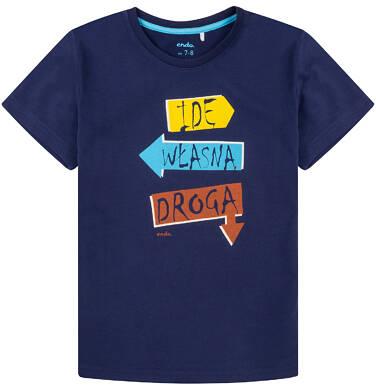 Endo - T-shirt dla chłopca 4-8 lat C71G007_1